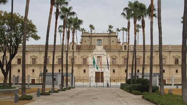 El Hospital de las Cinco Llagas, sede del Parlamento andaluz