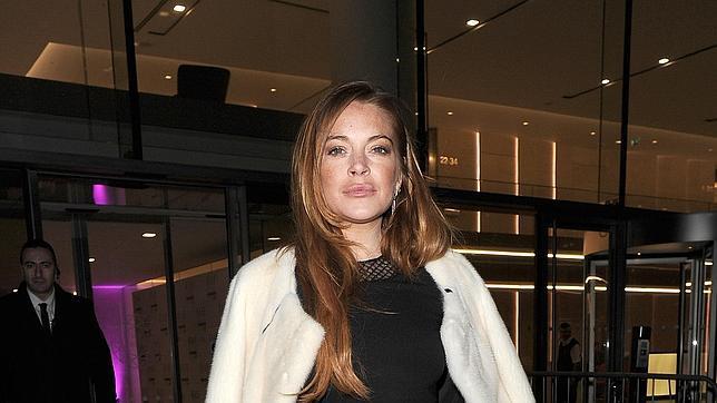 Lindsay Lohan en los Elle Style Awards 2015 en Londres