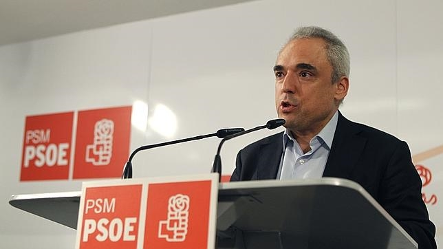 El presidente de la comisión gestora del PSM, Rafael Simancas, en una imagen de archivo