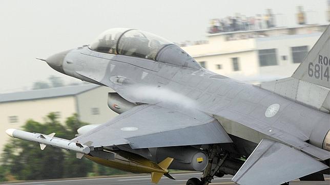 Un F-16 norteamericano