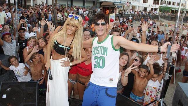 Ylenia Padilla, durante su participación en Playa Blanca