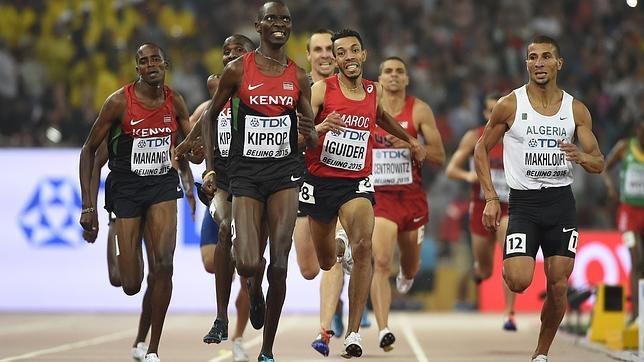 El keniano Kiprop se impone en la final de 1.500 del Mundial de Pekín