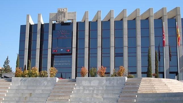 La fachada del Ayuntamiento de Navalcarnero, en una imagen de archivo