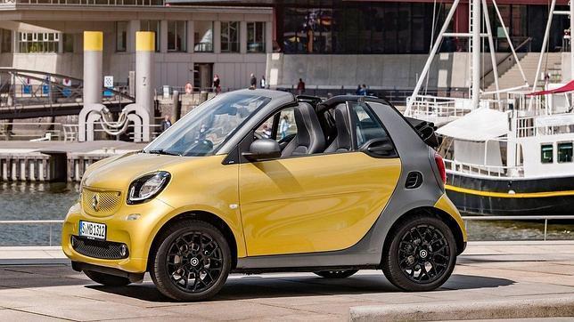El nuevo Smart Fortwo Cabrio debuta estos días en el Salón de Frankfurt
