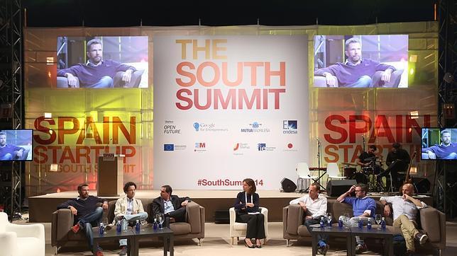 Uno de los paneles de expertos de la pasada edición del South Summit en Madrid