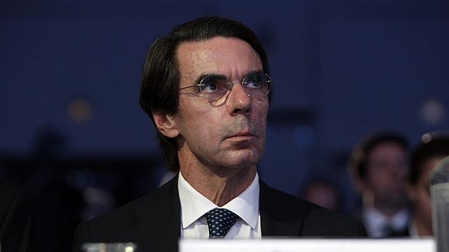 El expresidente del Gobierno español José María Aznar durante el XII Encuentro Nacional de Empresarios