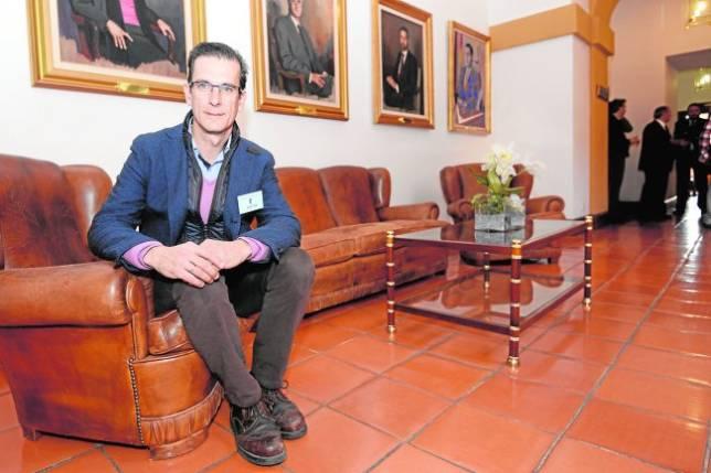 Villanueva el pasado jueves en las Cortes de Castilla-La Mancha