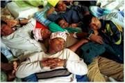 Más de 400 inmigrantes hacen huelga de hambre en la iglesia del Pi (Barcelona)