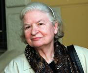 Phyllis Dorothy James, ayer en el British Council de Madrid. Julián de Domingo