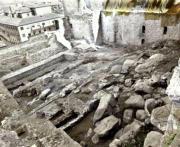 Los restos arqueológicos encontrados se integrarán en el futuro complejo. Efe