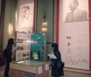 Un aspecto de la exposición, que se inaugura oficialmente el día 19, Daniel G. López