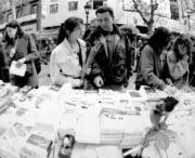 Los libros y las rosas serán los protagonistas del Día de Sant Jordi, ABC