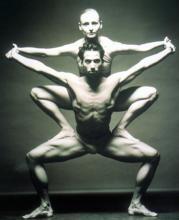 En la imagen, una coreografía del Ballet del Teatro Nacional de Mannheim, de Alemania