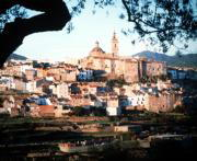 La comarca de los Serranos sufre importantes problemas de hundimientos. ABC