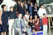 Amigos y compañeros de Paco Rabal rindieron tributo en la sede de la Filmoteca Española al actor recientemente fallecido. Javier Prieto