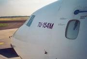 En el interior del avión tupolev siniestrado, se produjo una explosión