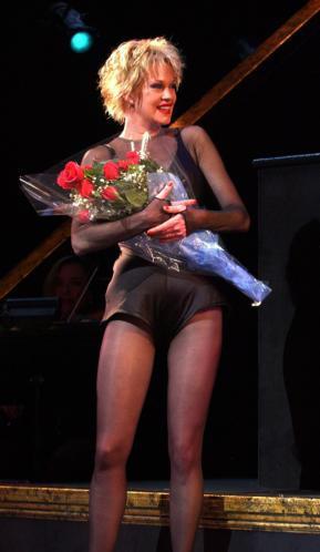 Melanie compite en Broadway con Banderas