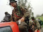 Guerrilleros de las FARC en la región selvática del Cauca EPA