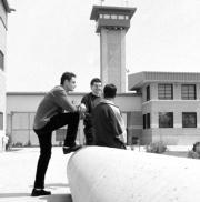 Imagen de archivo del patio de la prisión de Córdoba. RAFAEL CARMONA