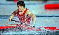 David Cal ha dado gloria a paladas al deporte español en Atenas EFE
