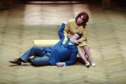Nina Stemme y Robert D. Smith, interpretando a Isolda y Tristán en el Festival de Bayreuth