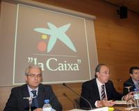 "Una asamblea de ""La Caixa"". /Archivo"