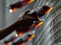 Imagen de archivo de un anuncio de la conocida bebida.