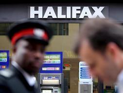 Sucursal del Halifax Bank of Scotland ( HBOS ) en Londres (Reino Unido). /EFE