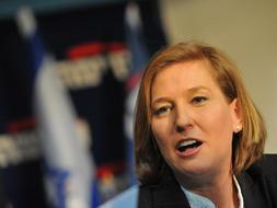Imagen de Tzipi Livni, líder del Kadima, que según los sondeos habría ganado los comicios de Israel./Afp
