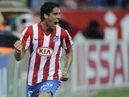 El Atlético termina cuarto en la Liga./AP