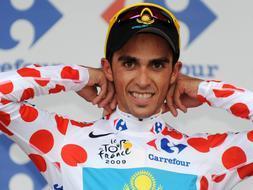 Alberto Contador coge la «pole»