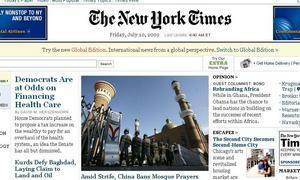The New York Times se plantea cobrar por su edición digital
