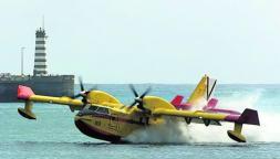 Cuarenta euros costará viajar en hidroavión entre las islas capitalinas