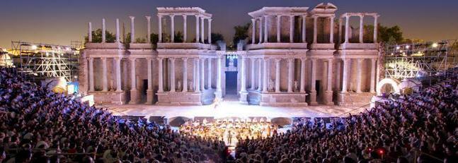 Mérida, escenario de la cultura romana