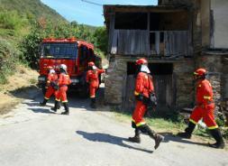 Ocho incendios forestales ponen en estado de alerta a la provincia de León
