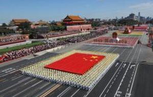 El régimen chino exhibe su «capitalismo rojo» en el desfile por su 60 aniversario