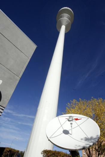 El «Pirulí» de Toledo, centro de  comunicaciones de toda la región
