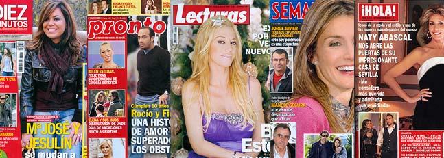 Las revistas de los miércoles: mucho más que el nuevo «look» de Belén Esteban