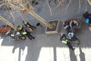 Ofensiva policial contra los indigentes