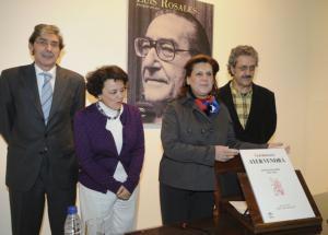 EFE  La consejera de Cultura, Rosa Torres, ayer presentando los actos