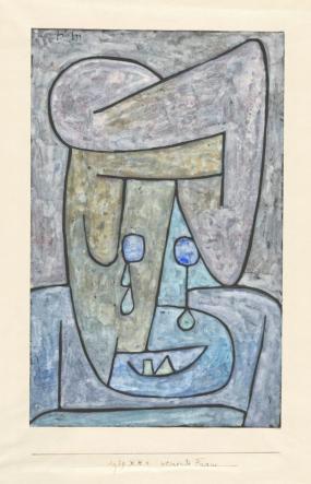 «Mujer llorando», Paul Klee (1939)