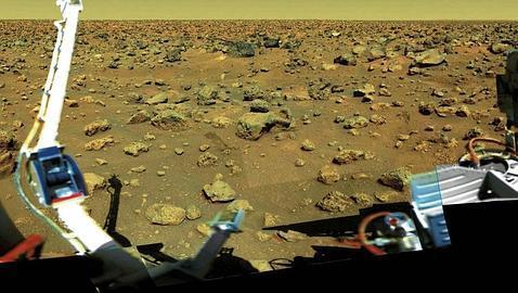 Hallan elementos clave para la vida en el suelo de Marte