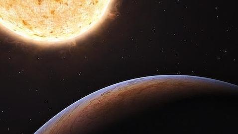 El planeta que vino de otra galaxia