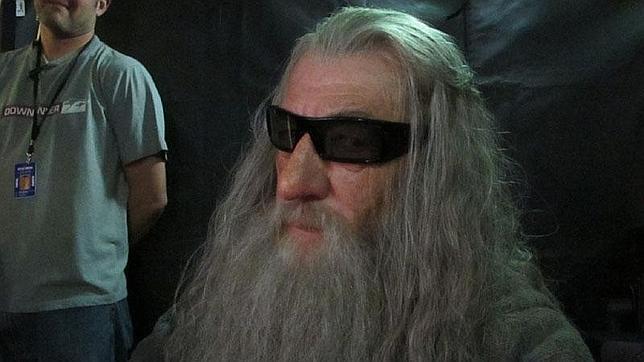 Gandalf, con gafas 3D para ver «El Hobbit»