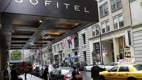 En el hotel de Strauss-Kahn
