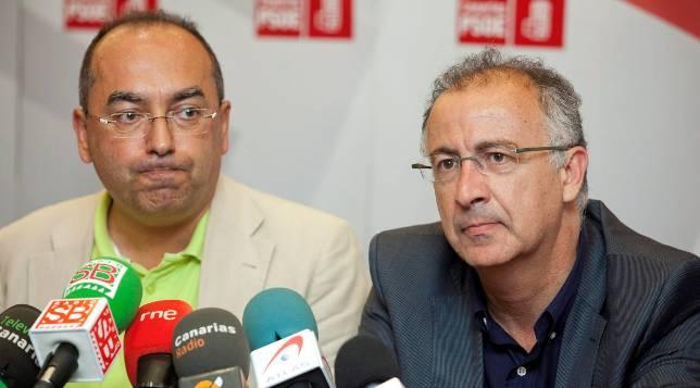 El PSOE se entrega a CC y salva a los nacionalistas del aislamiento político