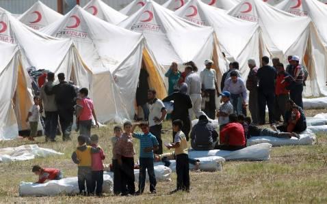 Turquía mantiene a los refugiados sirios en completo aislamiento