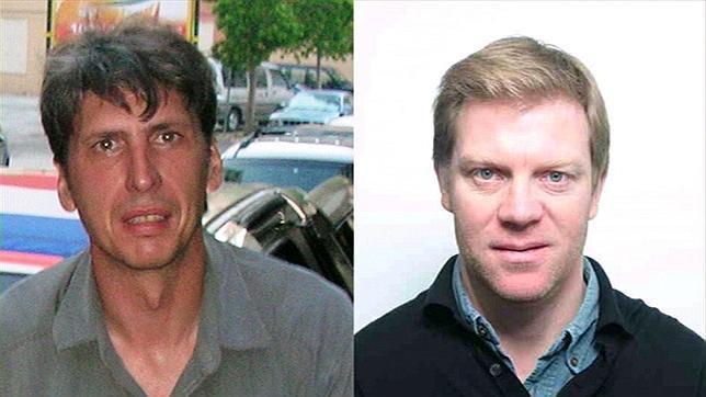 Liberados los dos periodistas franceses secuestrados en Afganistán