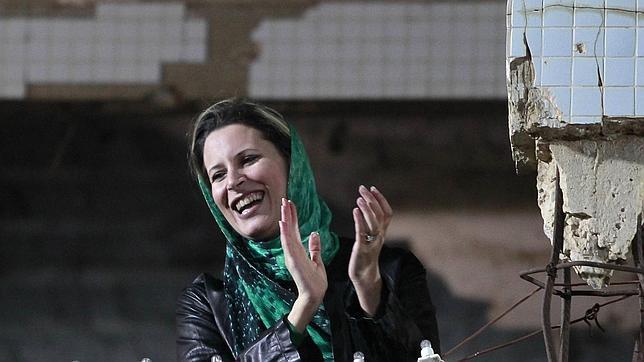 Gadafi ya tiene una nieta argelina