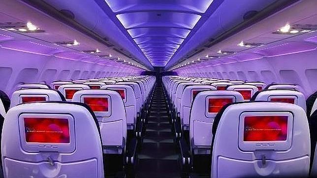 Superpantallas y wifi en los aviones